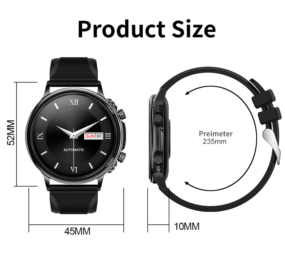 H19130e12c2e74e5ead77dc6507574fc8z LIGE New Smart Watch Men Custom Dial Full Touch Screen Waterproof Smartwatch For Android IOS Sports Smart watch Fitness Tracker