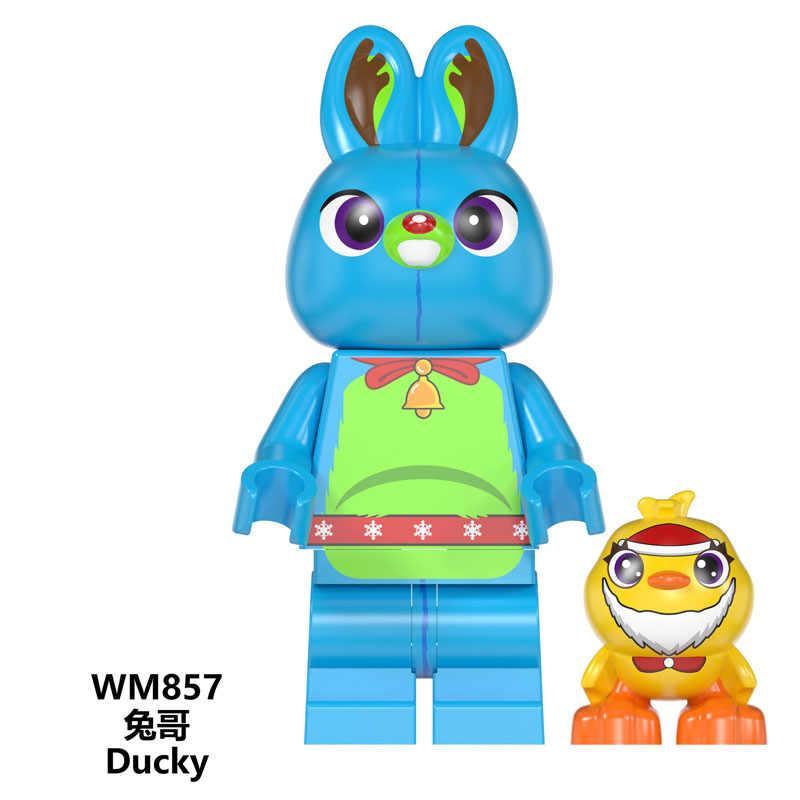 Gizmo ed boże narodzenie klocki Gingerbread Man Inhumans rodzina królewska Buzz Lightyear figurki dla dzieci zabawki prezent WM860