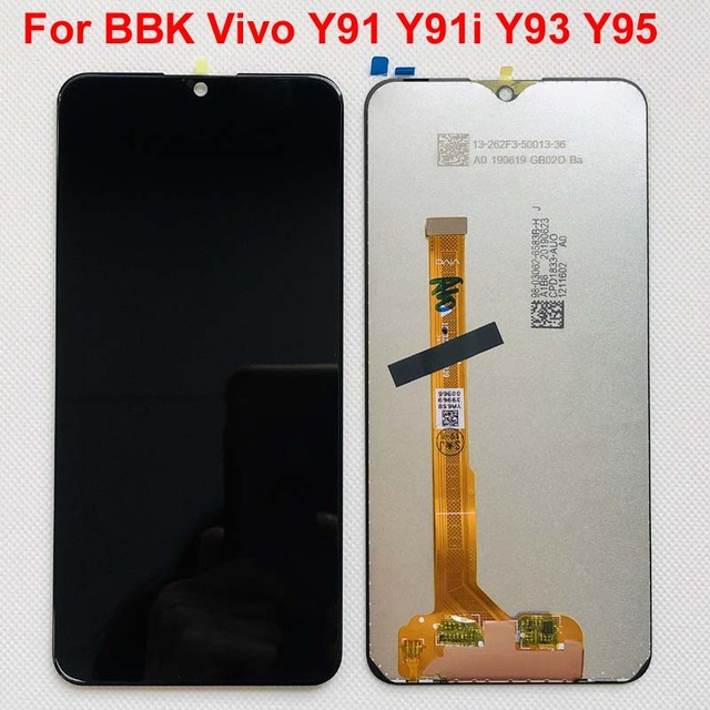 Pantalla LCD completa + MONTAJE DE digitalizador con pantalla táctil para BBK Vivo Y91 Y91i Y91c 6,2, 1817 pulgadas, para BBK Vivo Y93 1814/Y95 1815