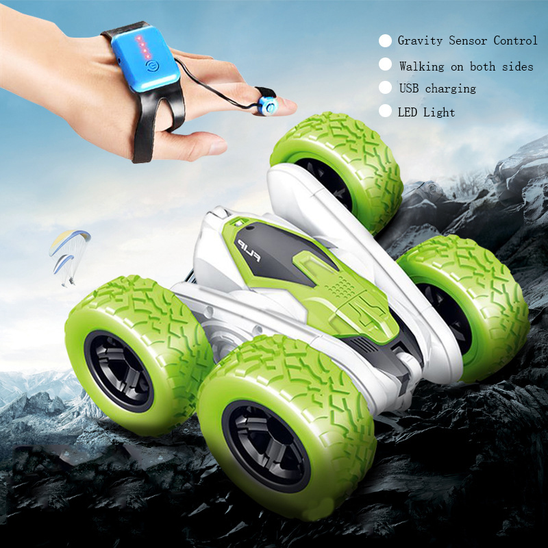 gesture control toy car Remote Control Stunt Car Gesture Induction Twisting Off-Road Vehicle Light