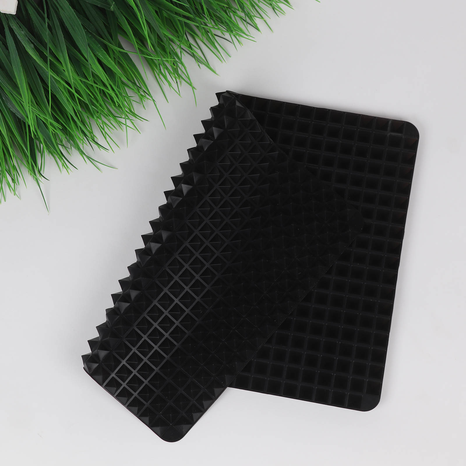 3 Colors Silicone Baking Mat In Non Toxic And High Temperature Resistance For Chocolate And Jelly Pudding 10