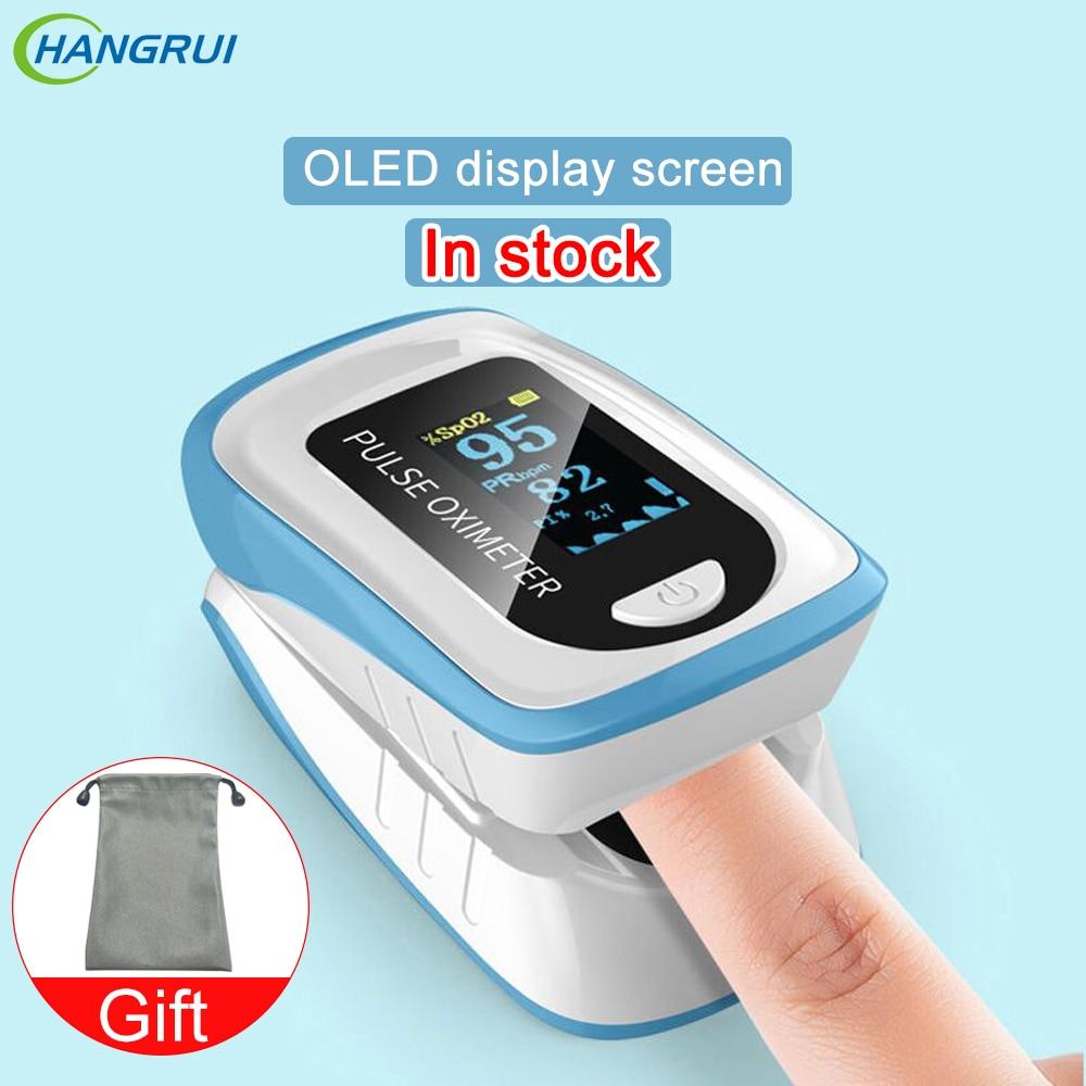 Blood Oxygen Monitor Fingertip oximeter oximetro de dedo OLED Meter Clip pulsoximeter Home family finger pulse oximeters