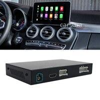 Car radio upgrade wireless apple carplay interface box for mercedes C class W205 GLC X253 dvd multimedia android auto decoder