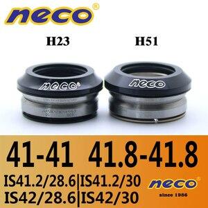 Neco lager headset 41 41.8mm IS41 IS42 IS41.8 Geïntegreerde Threadless MTB Racefiets Headset