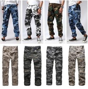 Image 4 - Мужские армейские брюки карго BDU в стиле милитари, рабочие повседневные камуфляжные цвета