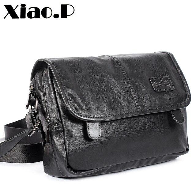 Yeni tasarım erkek çanta, yüksek kaliteli pu deri postacı çantası, moda çapraz vücut çanta, rahat öğrenciler bir omuz okul çantası