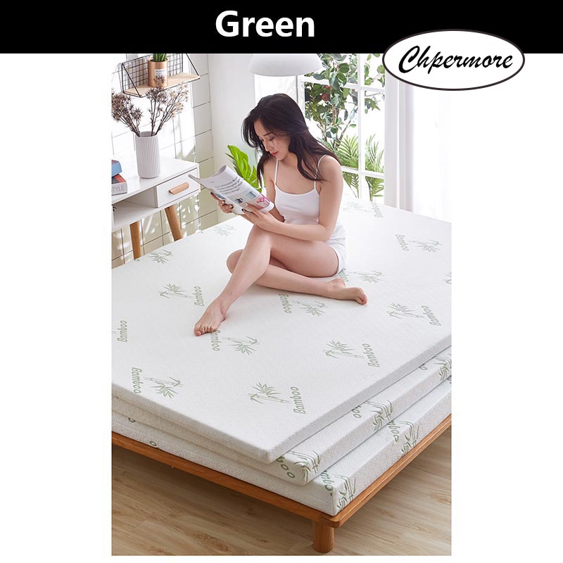 Chpermore Thicken Memory Foam Mattress Foldable Slow rebound Tatami Cotton Mattress Cover Bedspreads King Queen Twin Full Size 3