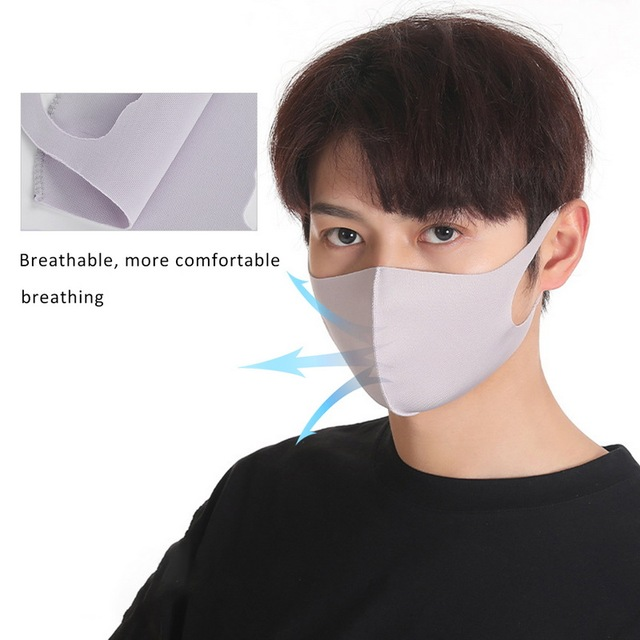 Multiple Colour Sponge PM2.5 Mask Dust Mask On The Mouth Bacteria Proof Flu Dust Washable Windproof Mouth Mask Reusable Masks 5