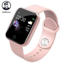 Smart Watch Pedometer Music Control Multiple Dials Heart Rate Fitness Smartwatch Men Women I5 For Apple Watch Android IOS Pk B57(China)