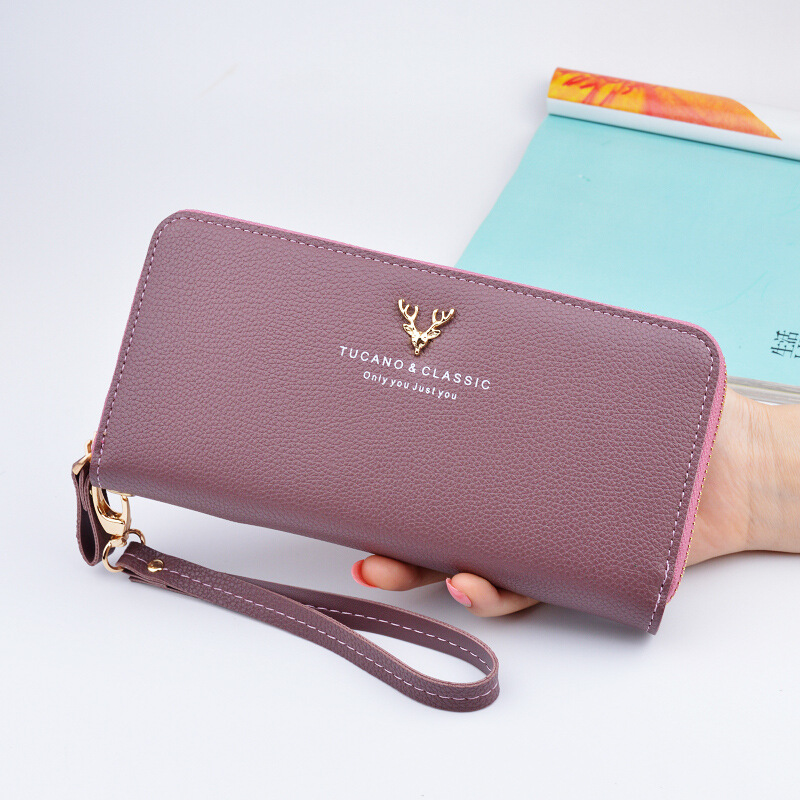 Wallet Korean Fashion Women's Wallet Long walet for women phone vallet Purse Teen Girl Carteira Feminina Card Wallet Female