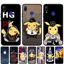 Kawaii Pika Silicone Soft Case For Redmi Note 7 7A 6 Pro 6A