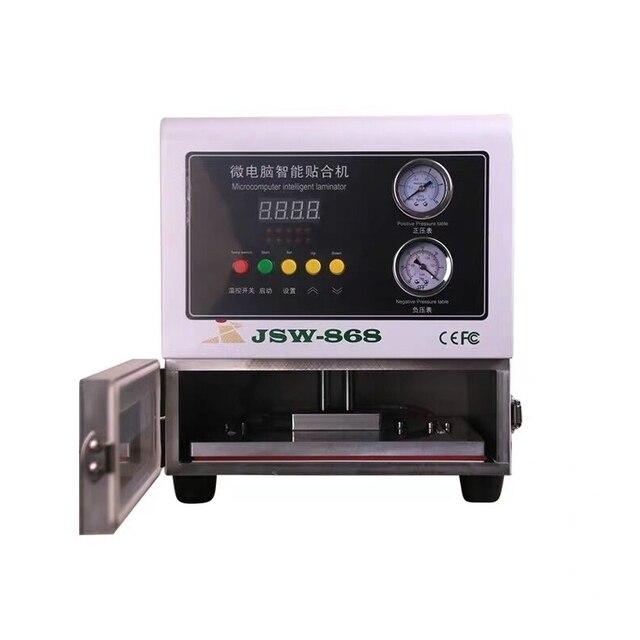 Samochodowy wyświetlacz LCD LY 818 cyfrowa Laminator OCA regulowana wysokość maszyna do laminowania 13 cali naprawa ekranów LCD narzędzia 220V 110V
