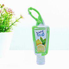 5PCS 30ML Reusable Mini Hand Sanitizer Fruit Scented Disposable No Clean Travel Portable Clean Moisturizing Safe Gel