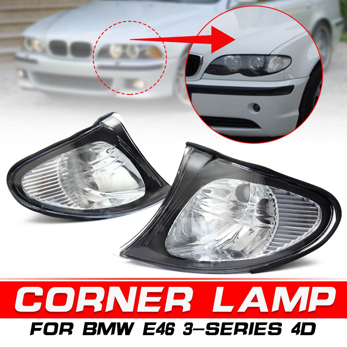 1-Pair Ford Mustang Replacement Corner Light Unit