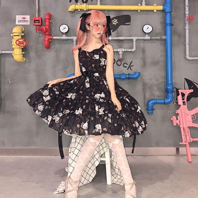 Купить винтажное платье лолиты для костюмированной вечеринки милое