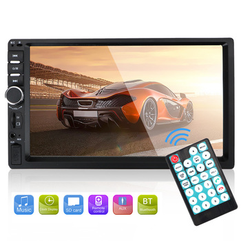 LEEPEE 2Din Car Radio Player 7010B /7012B/7018B Car 7 MP5/FM Player Car Reversing Display Touch Screen HD Multimedia Player image
