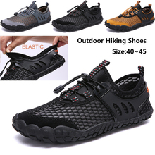 Men Off-road river shoes Aqua Shoes Outdoor Beach Water Shoes Upstream Creek Snorkeling Boots Neoprene Non-Slip Lightweight D25 river road