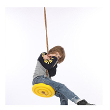 Disc-Toy-Seat Swings Round-Rope Hanging Garden-Play Activity Outdoor Entertainment