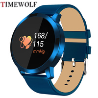 Timewolf Q8 Smart Watch OLED Color Screen Fitness Tracker Heart Rate Monitor Bluetooth IP68 Waterproof Smartwatch Q8