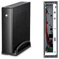 computer motherboard Thin Mini Itx Cases Usb2.0 2.5 Inch Hdd Ssd Sgcc Computer Gaming Pc Desktop Chassis Quiet For Motherboard Below 20 Mm (5)
