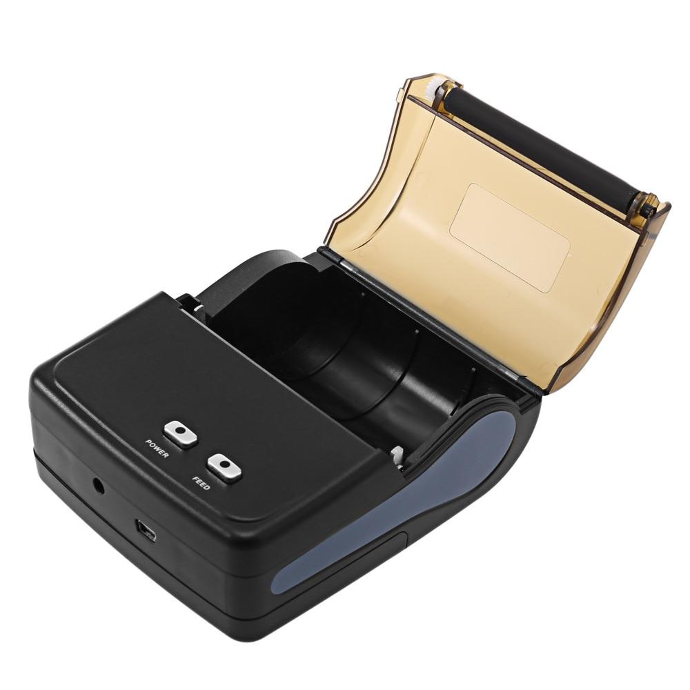 Qun Suo Hand-Held Handheld Billing Clothing Restaurant 80 Mm Android IOS Portable Bluetooth Thermosensitive Bar Code Printer
