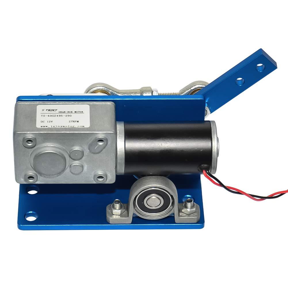 Motor automático da engrenagem da c.c. máquina de wobbler 35 60 90 degress com escova para o design diy dc 12 v 24 v motor da engrenagem reciprocating
