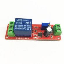 NE555 Timer Switch Adjustable Module Time Delay Relay Module DC 5V Delay Relay Shield 0~10S(China)