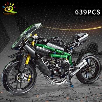 """Конструктор HUIQIBAO """"Спортивный мотоцикл"""" 6"""