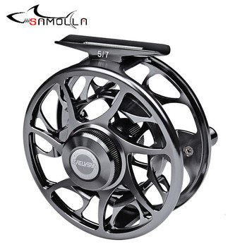 High Quality Fishing Reel Fly Fishing Reel Olta Makaralar Mulinelli Da Pesca Moulinet Peche En Mer Fly Reel Pesca Drag Angeln goture fly fishing reel rod combo 5 6 7 8 acl fly reel and bluewater fly rod with flies lures fishing kit pesca
