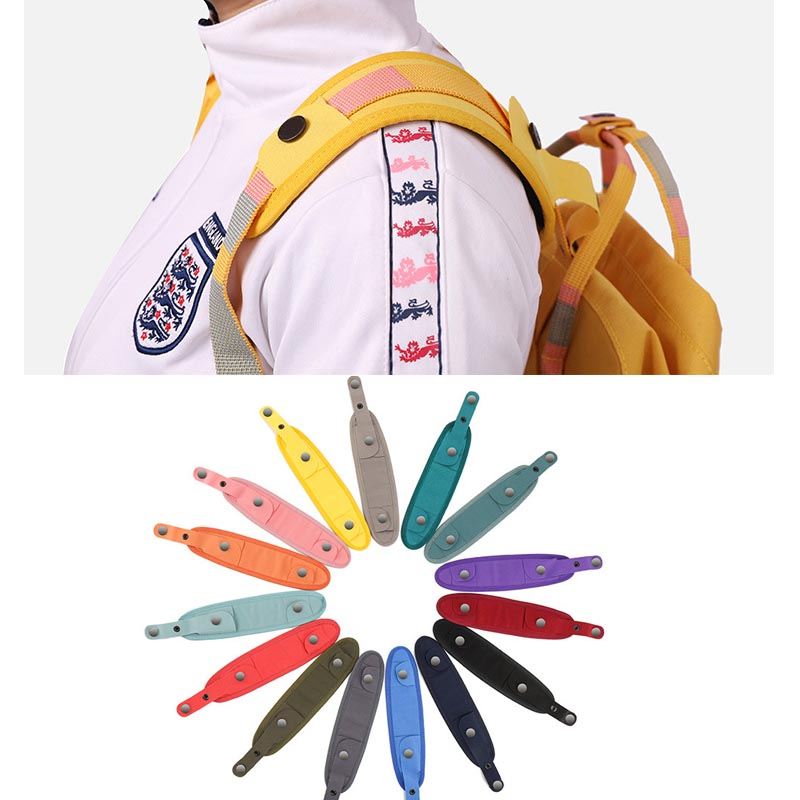 Waterproof nylon shoulder strap For kankens backpack nylon material Detachable Widening decompression stress reliever image
