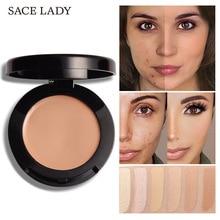 Concealer with Mirror Efficient Cover Black Circle Spout  Bottom Makeup 6g make up concealer