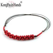 Романтическое классическое керамическое ожерелье с подвеской