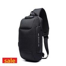 Crossbody-Bag OZUKO Pack Messenger-Bags Multifunction Waterproof New for Men Anti-Theft-Shoulder