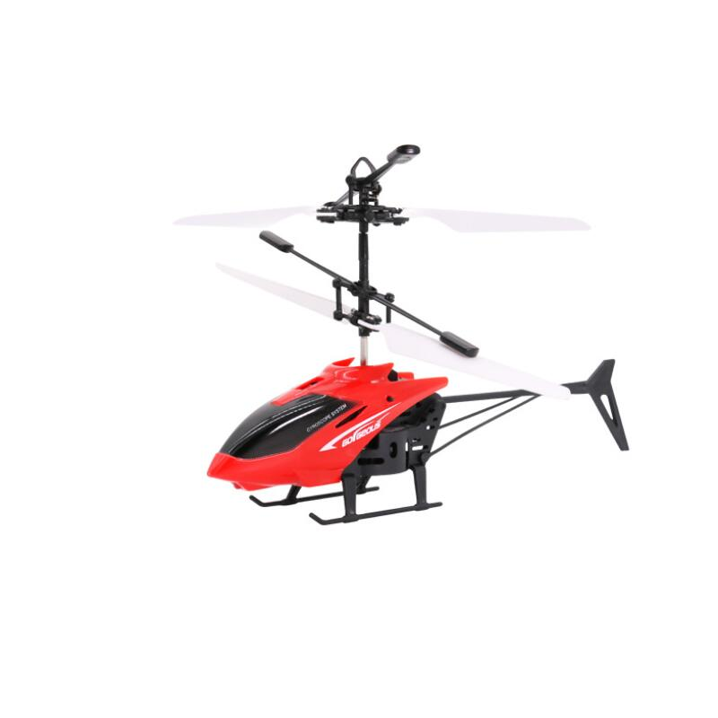 Smart Induction Helicopter Induction Aircraft Colorful Light Suspended Airplane Children Toy