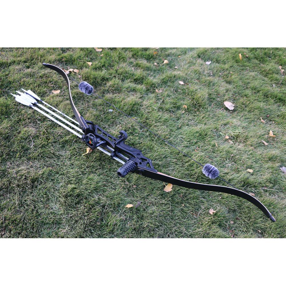 Huntingdoor 後ろに反らす弓テイクダウン American Hunting Estilingue 弓 30-50lbs 右手射撃屋外ハンティング用