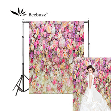 Beebuzz photo backdrop a variety of brightly coloured flowers gather backgroung studio and family portraits photophone
