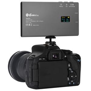 Image 4 - Luz de vídeo led com YB K10 lâmpadas, luz de bolso para câmera, lâmpada de vídeo 180 leds high cri 3200k 5600k, fotografia lâmpada para sony nikon dslr