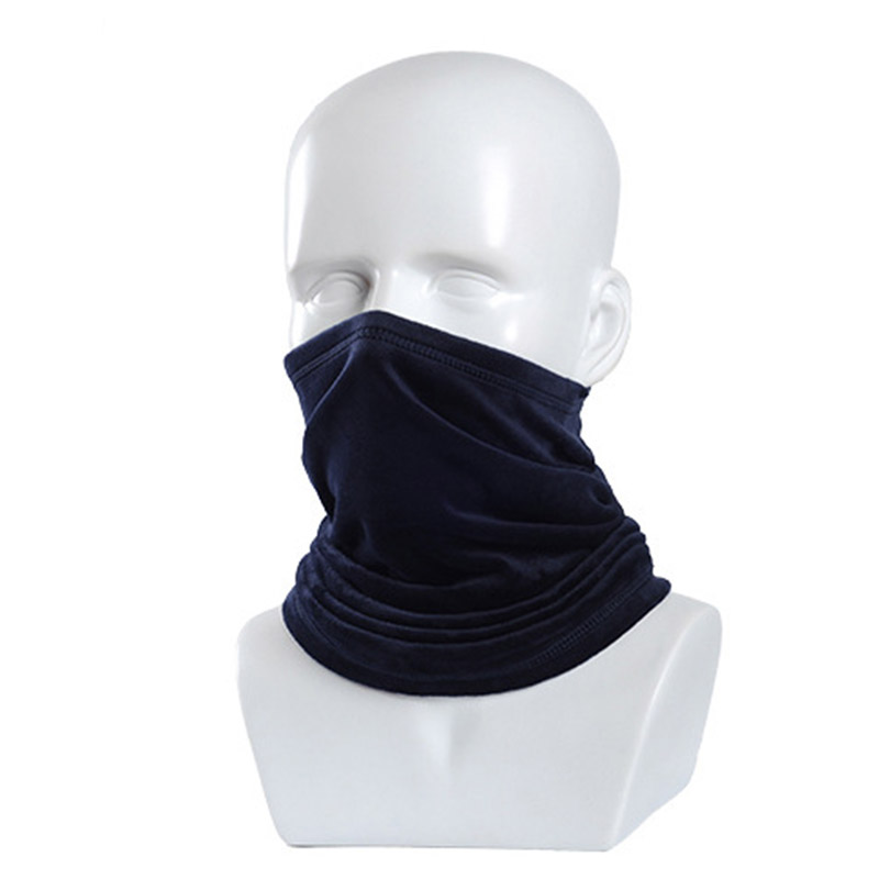 Cycling Scarf Sun UV Protection Neck Gaiter Half Face Cover Anti-Dust Windproof For Hiking Outdoor 2-layers S55