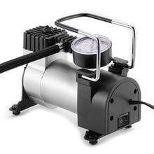 Mini pompe à Air Portable pour pneus de voiture grand écran, compresseur électrique, 12V