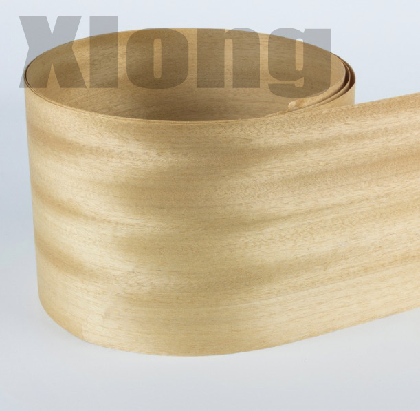 2Pieces/Lot L:2.5Meters Wide:160mm Thickness:0.5mm Burma Natural Golden Shaddock Peel Wood Veneer