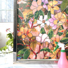 Matte Stained Fenster Film Statische Gefrostet Privatsphäre Fenster Aufkleber Non-Adhesive UV Schutz Glas Klammert Vinyl für Home Office