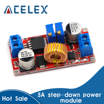 5A Adjustable DC-DC CC CV Lithium Battery DC Step Down Charger Board Power Supply Converter XL4005E1 5-32V to 0.8-30V LED Driver - discount item  11% OFF Electrical Equipment & Supplies