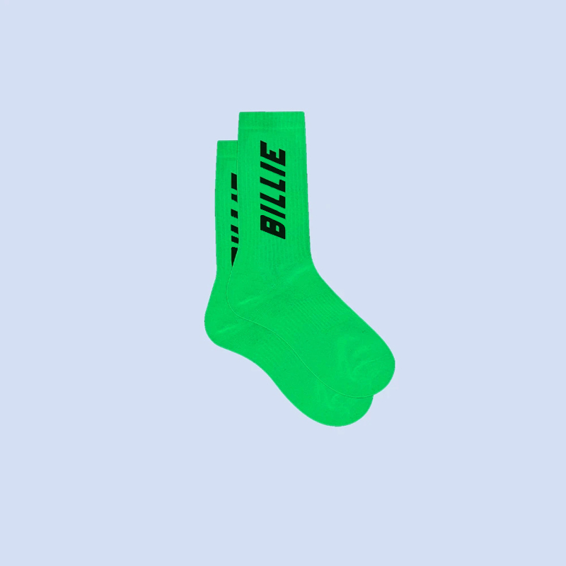 Billie Eilish Green Socks