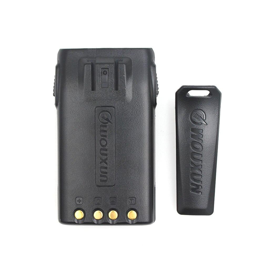 WOUXUN Battery  With Belt Clip For KG-UVD1P Walike Talkie 1A17KG-3 DC7.4V 1700mAh For KG-669 KG-833,KG-679P Radios High Capacity