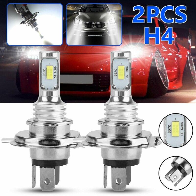 NEW-2X H4 9003 Hb2 6000 К супербелый светодиодными кристаллами Csp лампа фары комплект высокий низкий пучок с can-bus