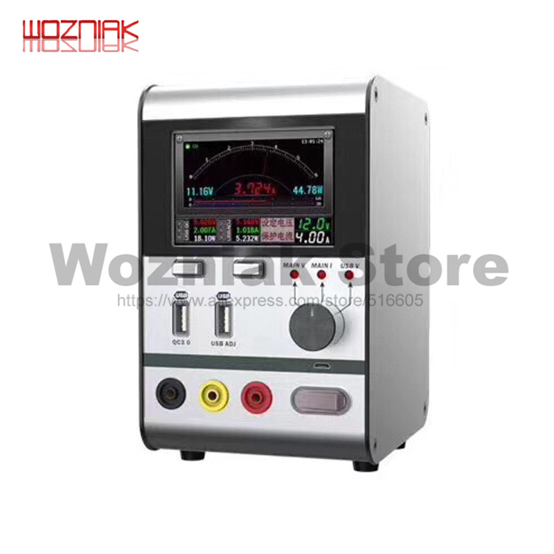 WOZNIAK 30V 6A Multi Port Maintenance Power Supply 110V 220V Intelligent Voltage Stabilized Ammeter FOR IPhone IPAD