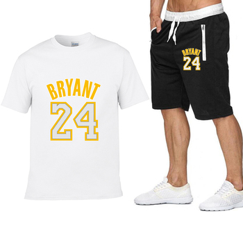 2020 new Pocket zip pants set 2 Pieces men Sets hot Basketball clothing print men set Fitness Summer Men Shorts T shirt Men set 7