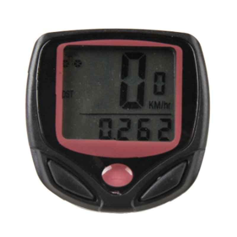 Étanche vélo ordinateur vtt vélo odomètre chronomètre compteur de vitesse LED taux numérique kilométrage enregistrement vélo accessoires