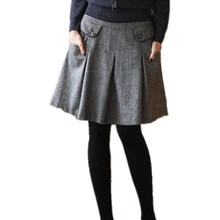 Skirts Fashion Woolen Women