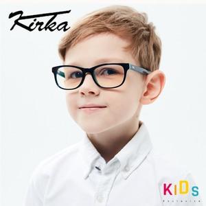 Image 2 - Kirka Optical Children Glasses Frame Acetate Glasses Children Flexible Protective Kids Glass Diopter Eyeglasses For 6 10 Years